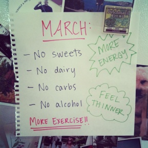 My healthy month
