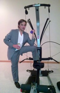 Don Johnson... workin out