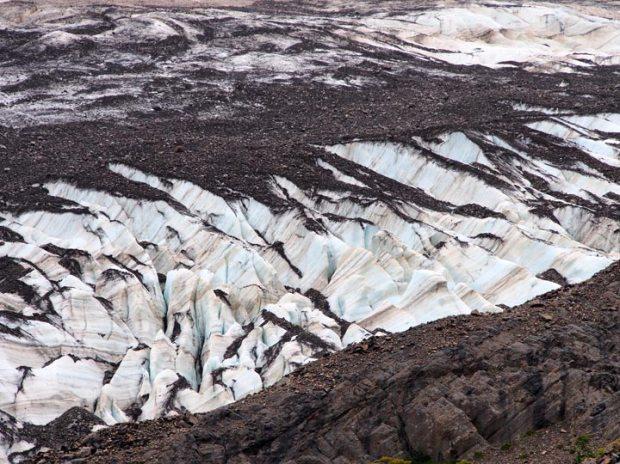Glacier in Valle Frances