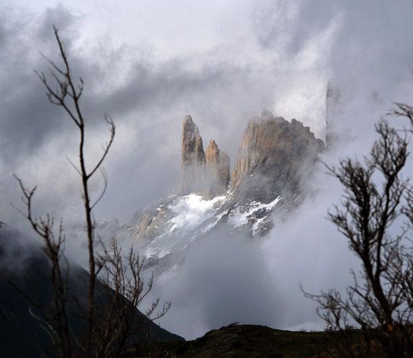 Backside of Las Torres