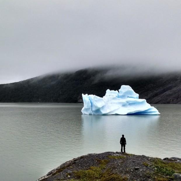 Man vs Iceberg