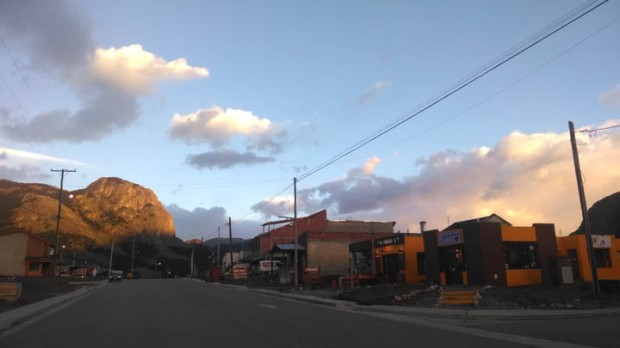 Morning light on El Chaltén