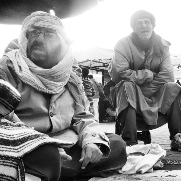 Snake charmers in conversation