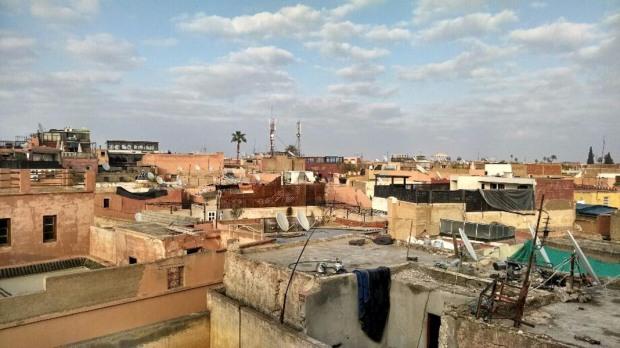 Marrakech towards our hotel