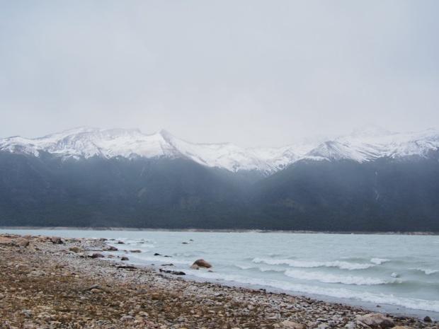 Beach near Perito Moreno