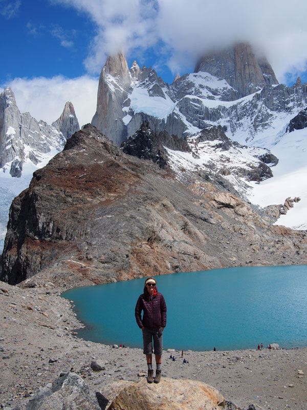 Me with Fitz Roy behind