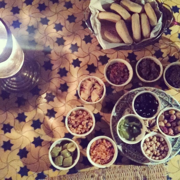 Spread at Hotel Al Baraka