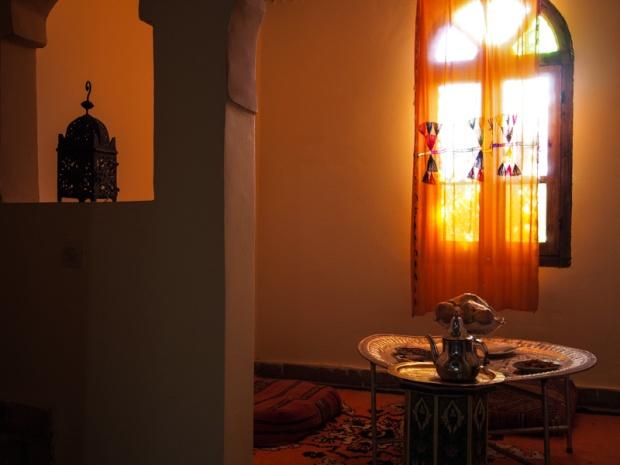 Tea room in Morocco