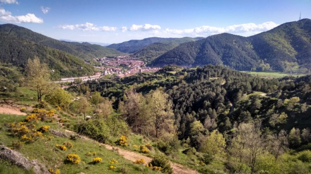 Mountain views in Ripoll