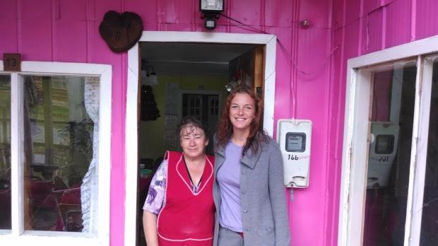 Hosepdaje Doña Ester in Puerto Bertrand Chile