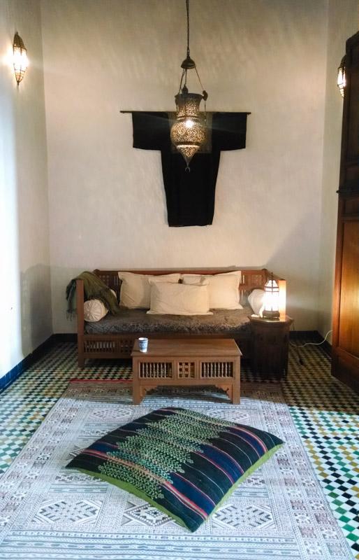 Dar Seffarine hotel room