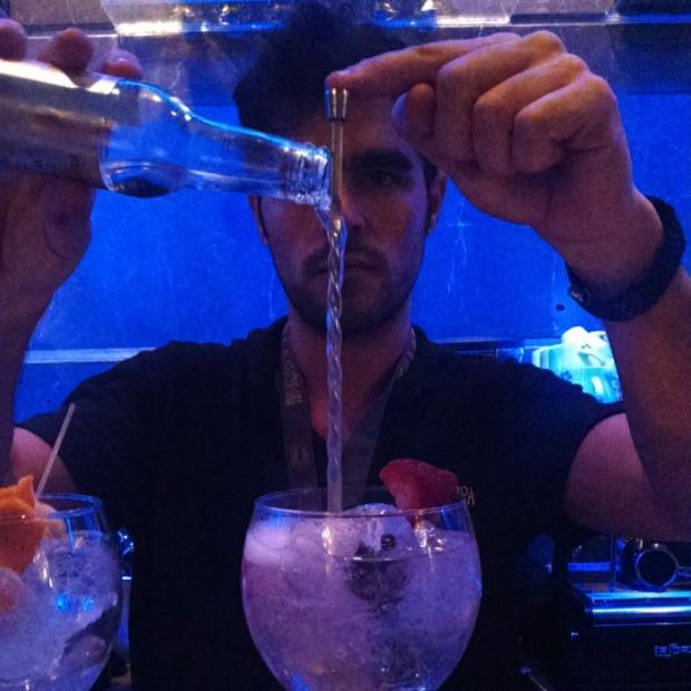 Gin drinks in Ibiza
