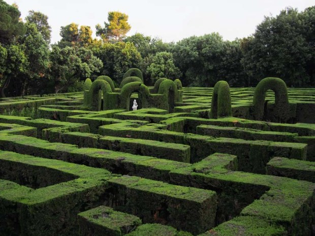 Hedge Maze in Barcelona