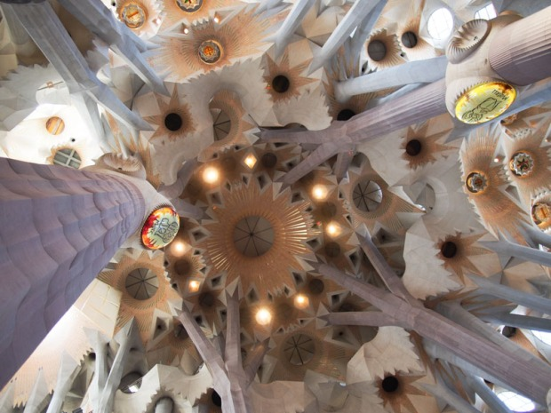 Rooftop of La Sagrada Familia