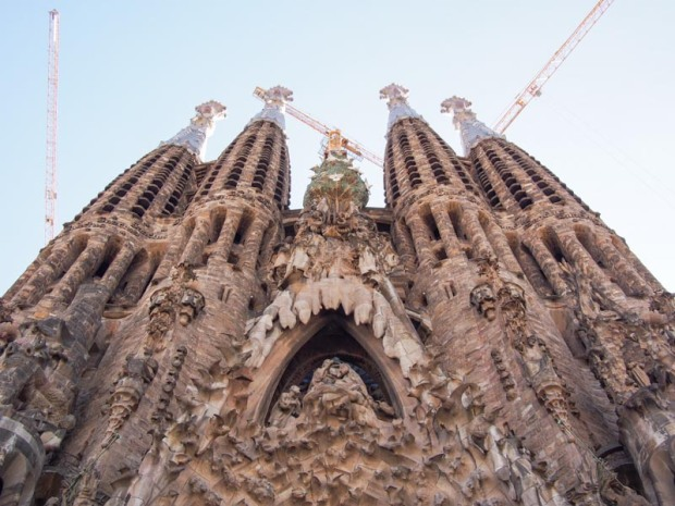West face of Sagrada Familia