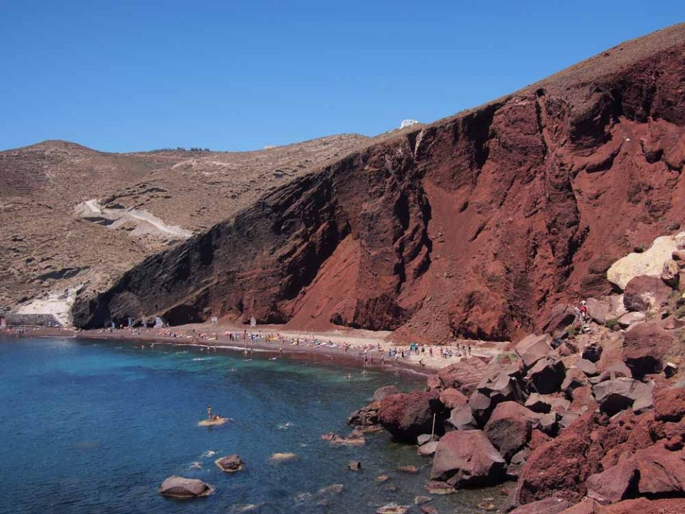 Red beach - so cool
