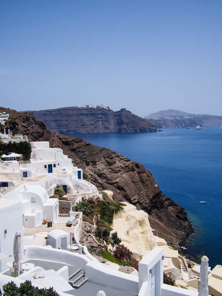 White-washed houses of Greece